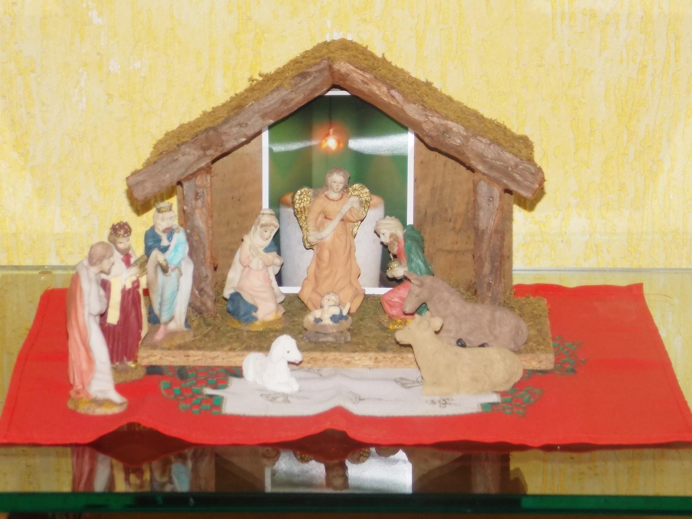 casa para o Natal  Decoração Como num conto de fadas #A92E22 2272x1704