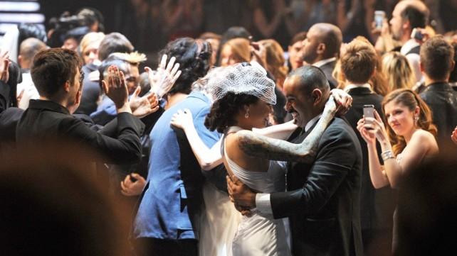 Casamento coletivo- Fonte: Quem