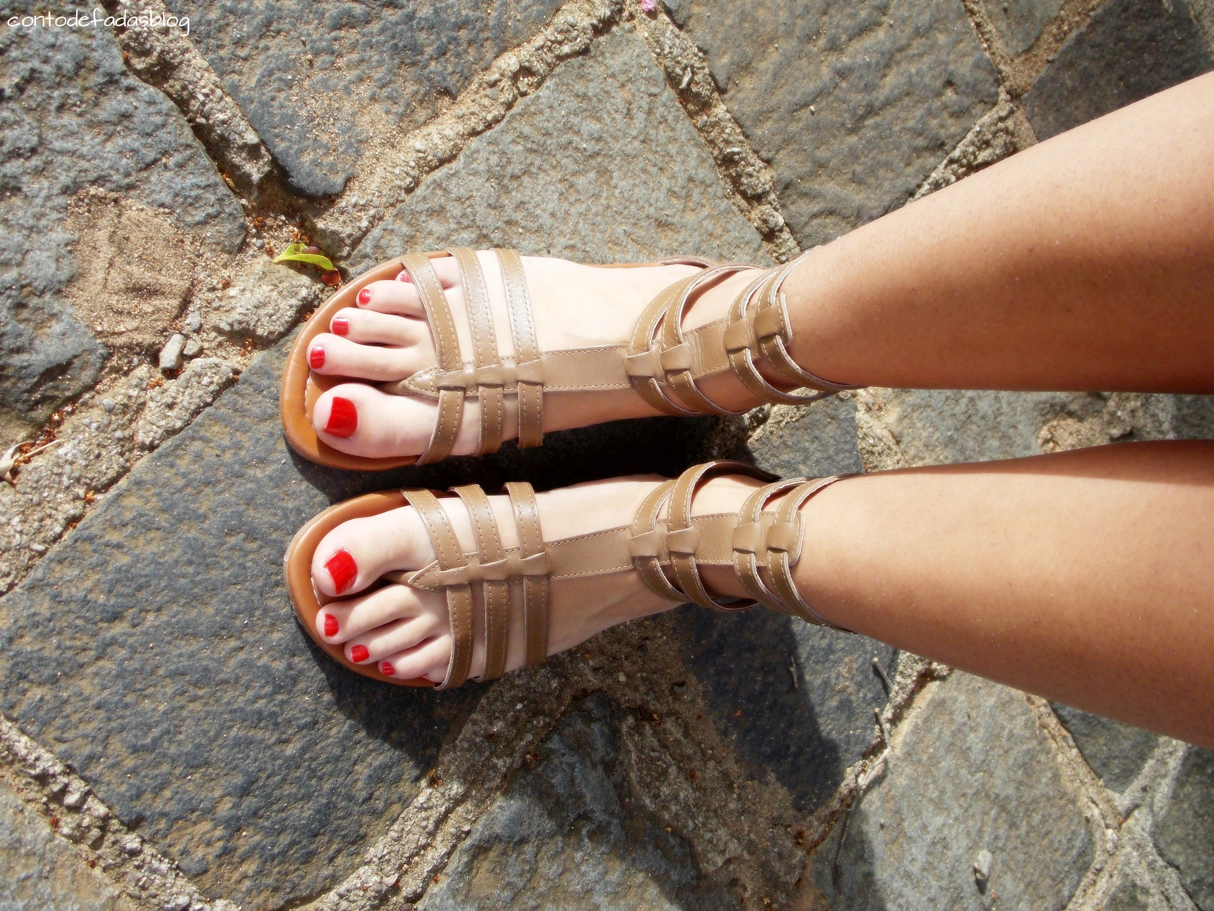 1c50215ed ♥Sandália Zutti ♥Bolsa- Comprei na praia ♥Brinco- Joalheria Raritá ♥Anél-  25 de março (São Paulo)